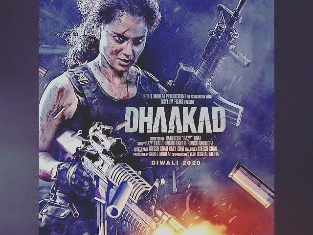फिल्म थलाइवी के बाद  कंगना धाकड़ में भी एक अलग अंदाज में नजर आएंगी, जो इस दिवाली में रिलीज होगी.