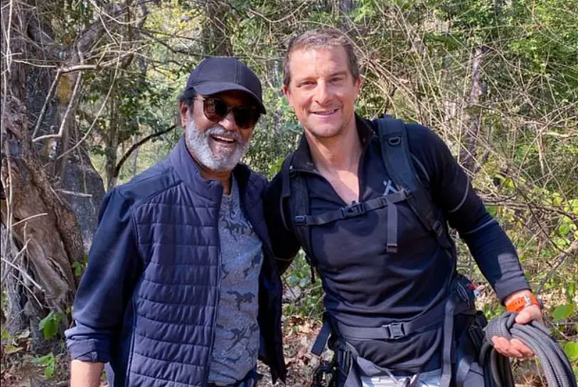 Man vs Wild with Rajinikanth : रजनीकांत से इंप्रेस हुए बेयर ग्रिल्स, बोले- आप लोगों के लिए प्रेरणा हैं...