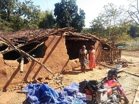 सदर प्रखंड में घुसे हाथी, आधा दर्जन घरों को किया क्षतिग्रस्त