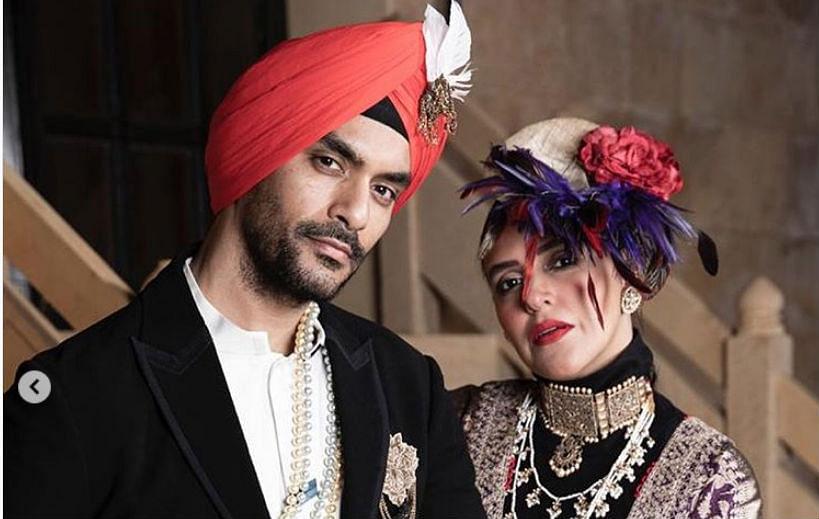 नेहा धूपिया के पति ने शेयर की 'पांच गर्लफ्रेंड्स' की फोटो, लिखा- जो करना है कर लो...