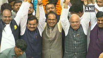Madhya Pradesh विधानसभा: सपा- बसपा समर्थन के साथ शिवराज ने जीता विश्वास मत