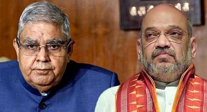पश्चिम बंगाल के राज्यपाल जगदीप धनखड़ आज गृह मंत्री अमित शाह से मिलेंगे