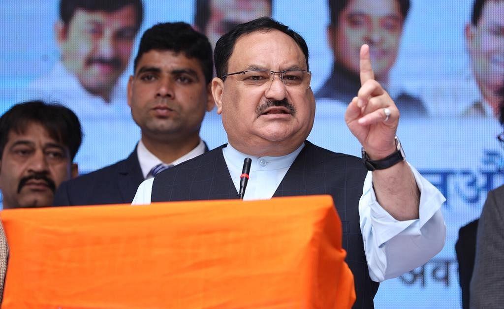 पंजाब में दशहरे पर PM मोदी का पुतला जलाने पर नड्डा का कांग्रेस पर हमला, कहा- यह राहुल निर्देशित ड्रामा