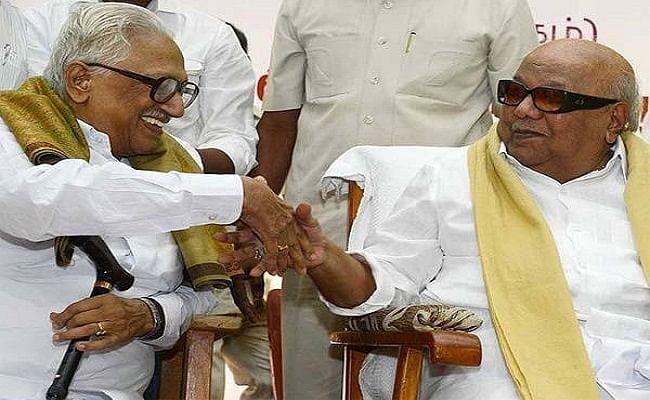 DMK नेता के अनबझगन का निधन, दक्षिण भारत की राजनीति में 'प्रोफेसर' के नाम से थे मशहूर