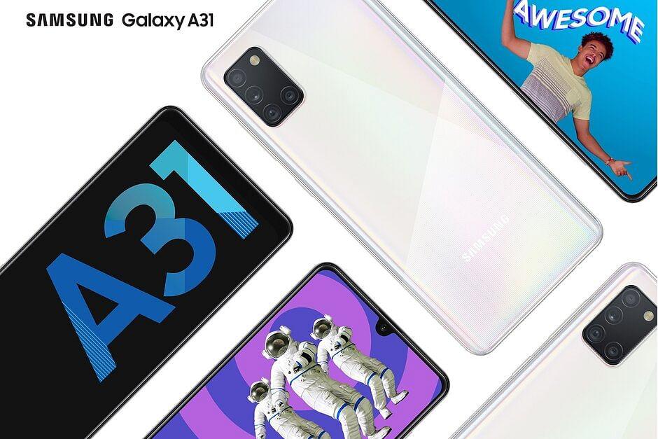 Samsung Galaxy A31 लॉन्च : 5000mAh बैटरी, 20MP सेल्फी कैमरा के अलावा ये खूबियां भी खास