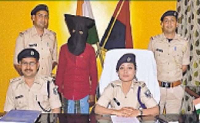 अंतरराज्यीय हथियार तस्कर मो सोनू तीन पिस्टल के साथ गिरफ्तार