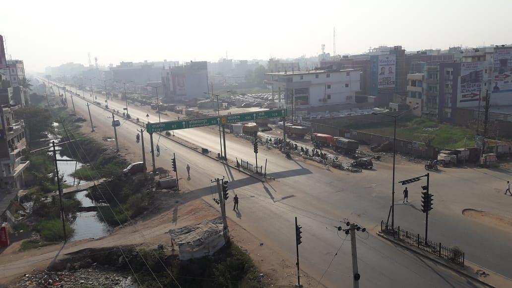जनता कर्फ्यू का पटना में दिखा व्यापक असर