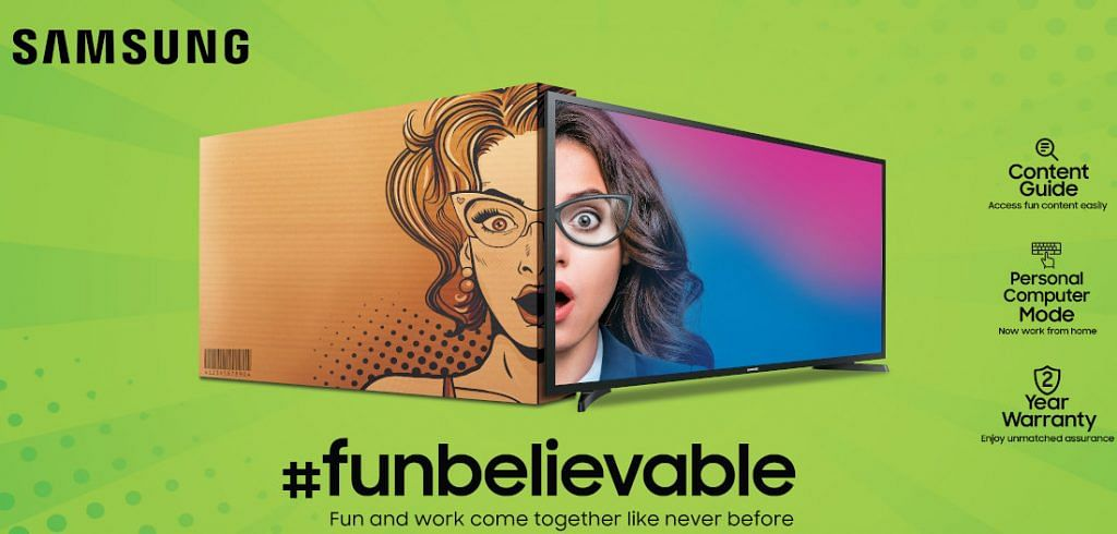 Funbelievable! Samsung ने लॉन्च किया सस्ता Smart TV, कीमत 12990 रुपये से शुरू