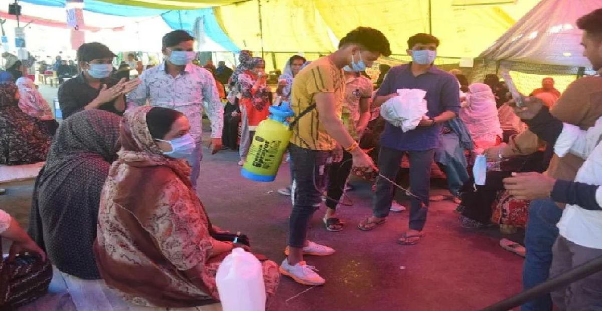 Coronavirus Lockdown : कोरोना का खतरा, शाहीनबाग के तीन प्रदर्शनकारियों को जमानत