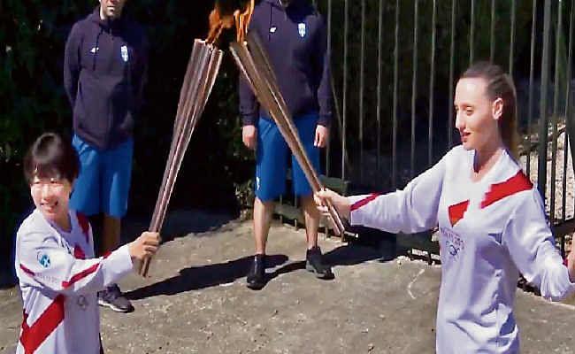 कोरोना वायरस के खौफ के बीच तोक्यो ओलिंपिक की मशाल प्रज्ज्वलित, गेम समय पर होने की उम्मीद
