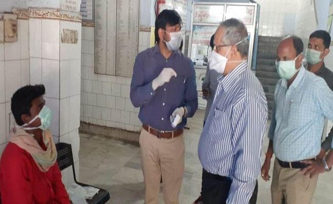 छपरा सदर अस्पताल में पहुंचे कोरोना वायरस के दो संदिग्ध मरीज