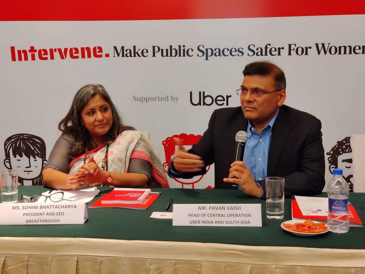 महिला हिंसा रोकने के लिए साथ आये ऊबर और ब्रेकथ्रू, 'इग्नोर नो मोर' अभियान की शुरुआत