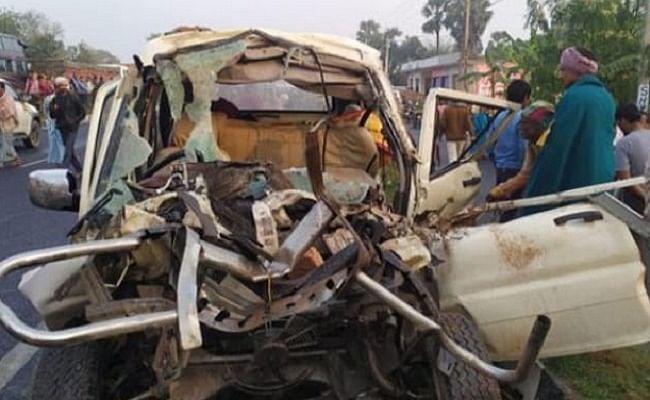 दर्दनाक हादसा: ट्रैक्टर और स्कॉर्पियो की भिड़ंत, 11 लोगों की मौत, चार की हालत गंभीर