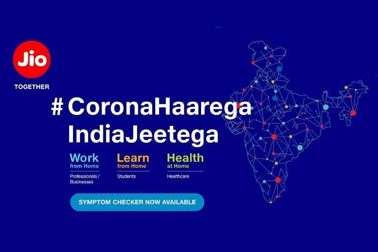 CoVID 19 से बचाव और रोकथाम के लिए JIO लाया Coronavirus Info Tool