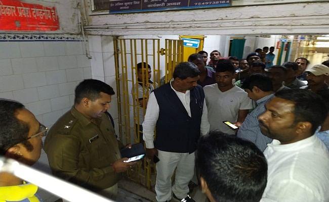 भागलपुर पुलिस लाइन बैरक में सिपाही को लगी गोली, चर्चाओं का बाजार गरम