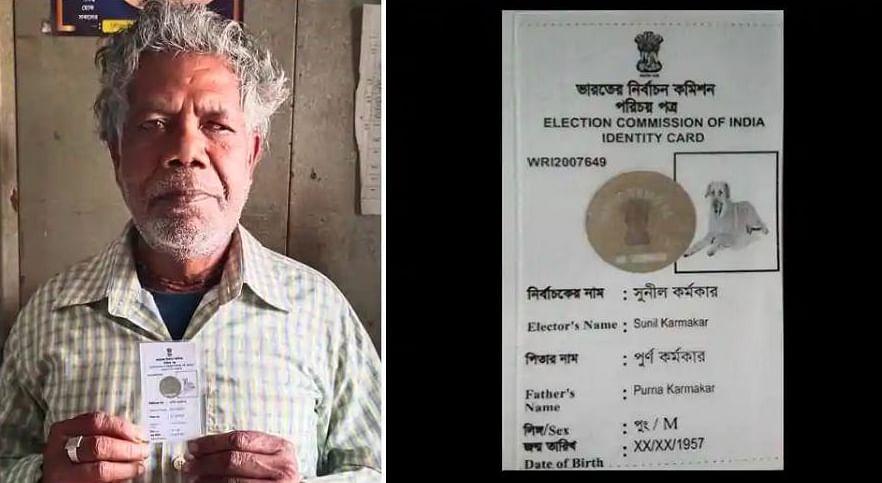 कुत्ते की तस्वीर वाला पहचान पत्र जारी करने के लिए चुनाव आयोग को कोर्ट में घसीटेगा बंगाल का वोटर