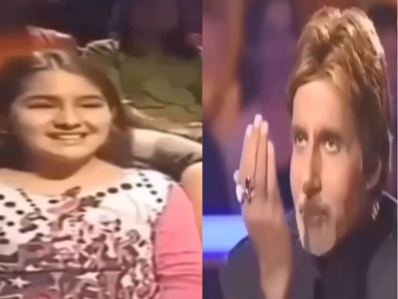 जब KBC के सेट पर अपने पिता सैफ के साथ पहुंची थी सारा अली खान, देखें VIDEO