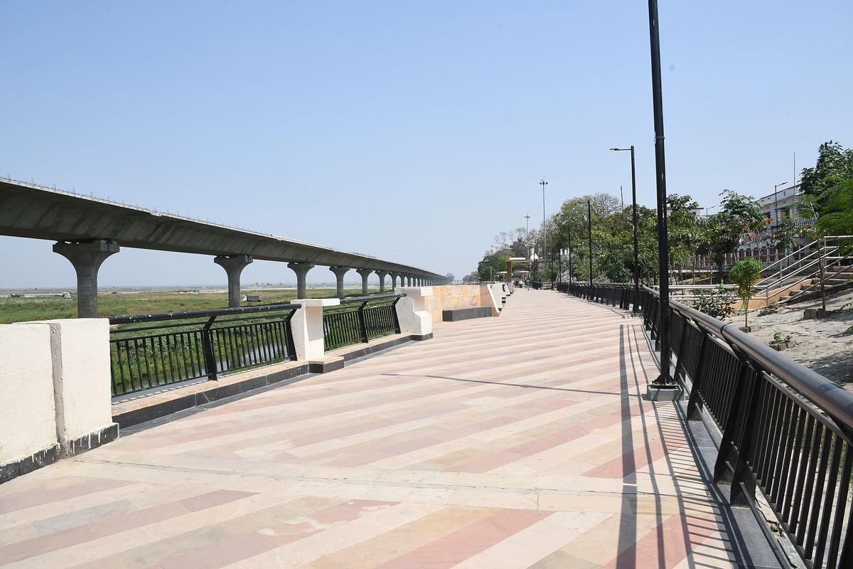 गंगा पाथ-वे पर जुलाई अंत तक दौड़ने लगेंगे वाहन, पांच दशक पुराना पटना का सपना होगा साकार