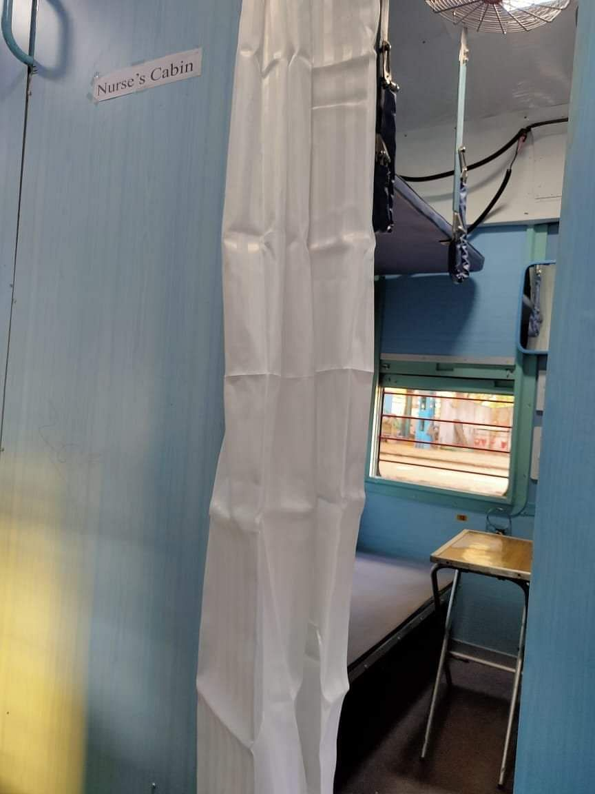कोरोना से जंग में उतरा रेलवे, बोगियों में तैयार कर रहा आइसोलेशन वार्ड