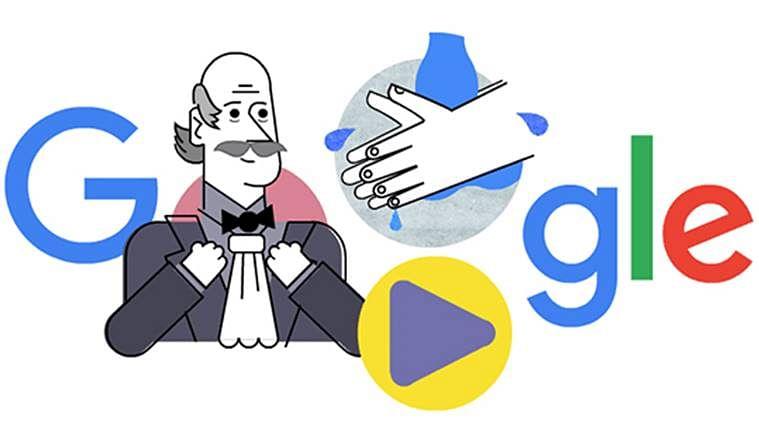 CORONA के कहर के बीच Google ने Doodle बनाकर किया Ignaz Semmelweis को याद