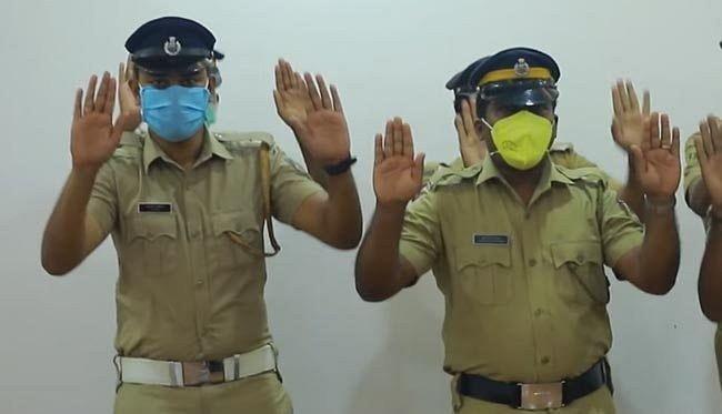 कोरोना से बचाने के लिए केरल पुलिस ने कुछ इस अंदाज में लोगों को किया जागरुक, वीडियो हुआ वायरल