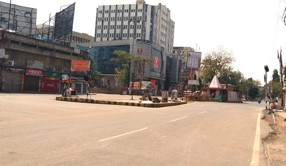 Janta Curfew : तस्वीरों में देखिये बिहार में 'जनता कर्फ्यू' का ताजा हाल