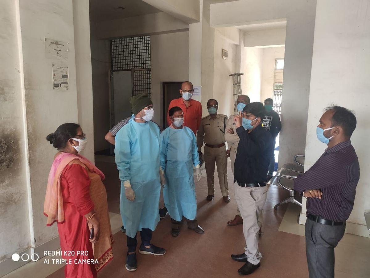 कोडरमा में स्पेशल कोविड अस्पताल तैयार, 9 बेड का आईसीयू और 100 बेड का आइसोलेशन वार्ड