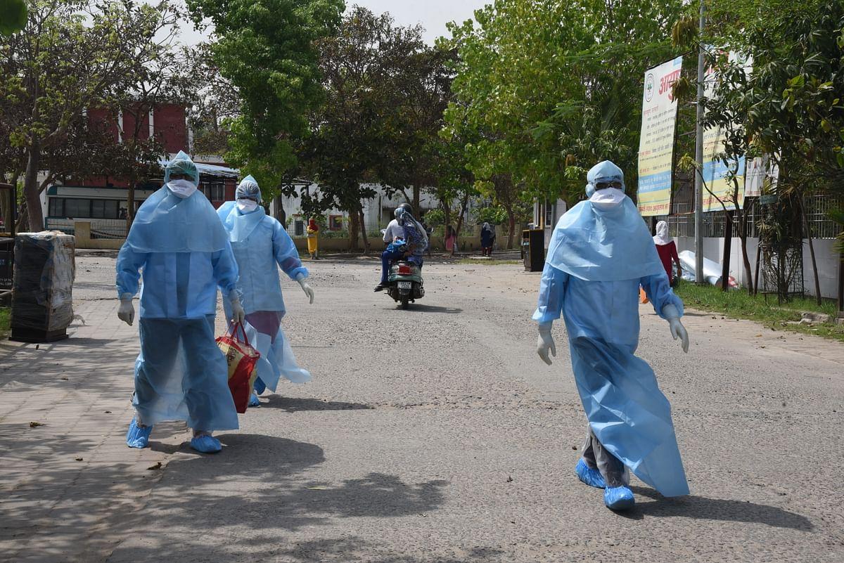 CoronaVirus in Bihar : बिहार में राजभवन में भी फैला कोरोना, 20 स्टॉफ मिले संक्रमित