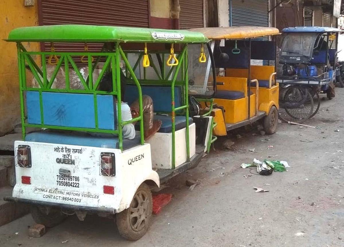 बड़े ऑटो में चार, छोटे ऑटो व ई-रिक्शा में दो लोग ही कर सकेंगे सवारी