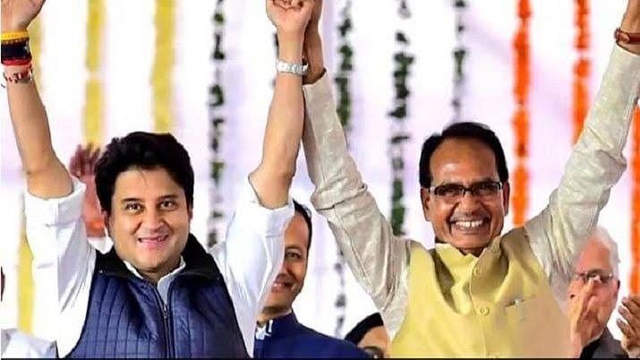 MP : शिवराज सरकार में बढ़ा ज्योतिरादित्य का कद, पांच मेंं से दो मंत्री सिंधिया कोटे से