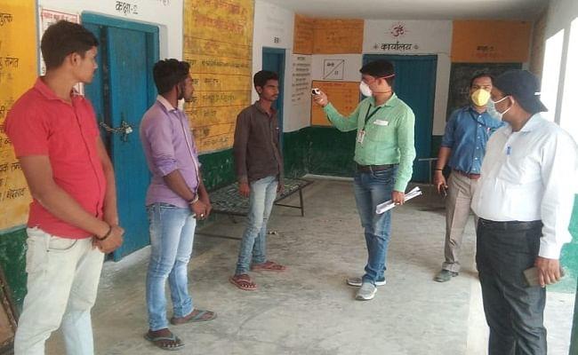 एक साथ ठहरे थे बिहार के 133 मजदूर, एक युवक में मिला कोरोना पॉजिटिव तो मचा हड़कंप