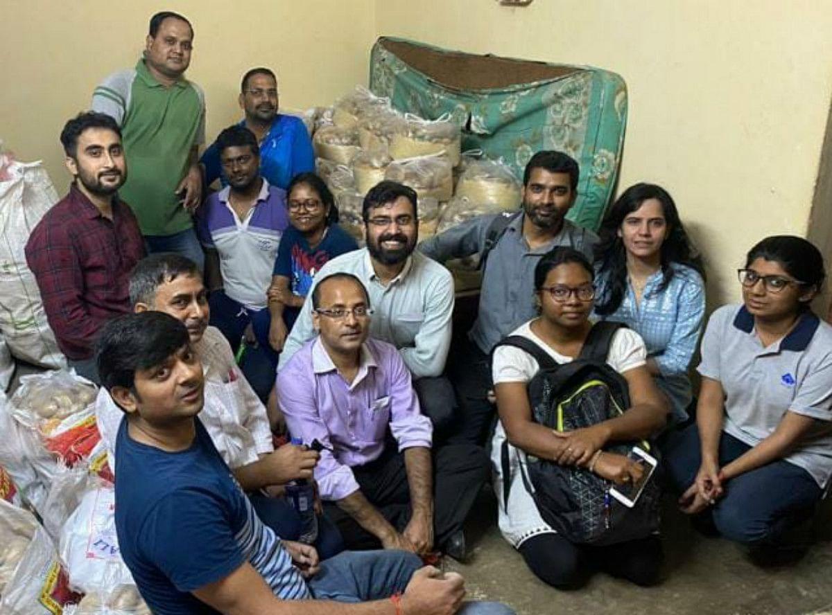 Coronavirus Outbreak: लॉकडाउन में ड्यूटी के साथ समाज सेवा भी कर रहे हैं बीएसएल कर्मी