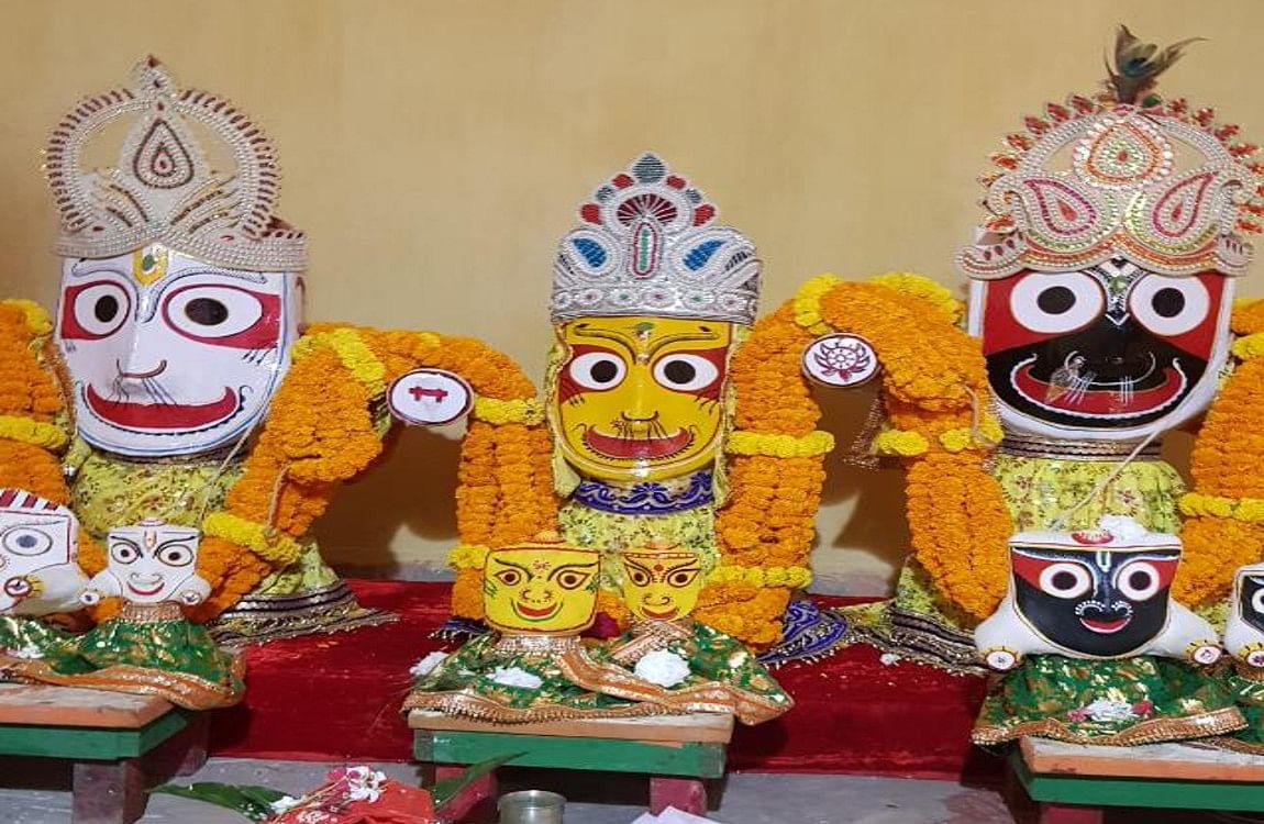 अक्षय तृतीया पर प्रभु जगन्नाथ के रथ निर्माण के लिए शुरू हुई पूजा-अर्चना, 23 जून को रथ यात्रा