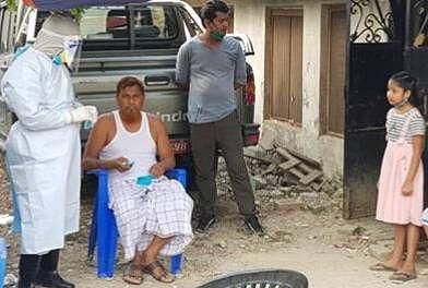 कोरोना जांच को लेकर जालिम मुखिया का लिया गया सैंपल, नेपाल के पर्सा में तीन भारतीय मौलाना में कोरोना की पुष्टि