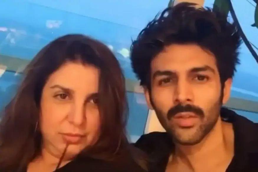 Kartik Aaryan ने फराह खान से मांगी सलाह, पूछा- दाढ़ी काट दूं क्या?... VIDEO