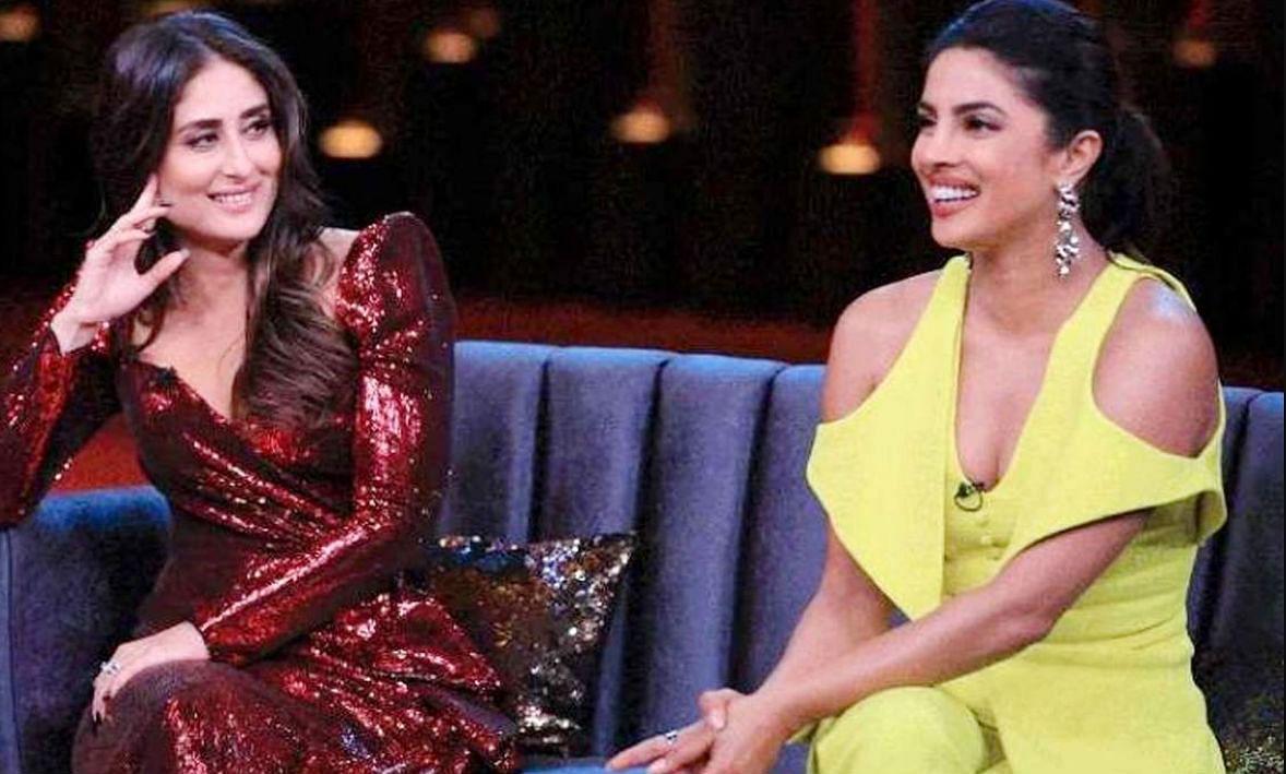 Priyanka Chopra और Kareena Kapoor जब पहुंचीं थीं करण के शो में, Ex Boyfriend शाहिद के सवाल पर था ऐसा रिएक्शन, VIDEO