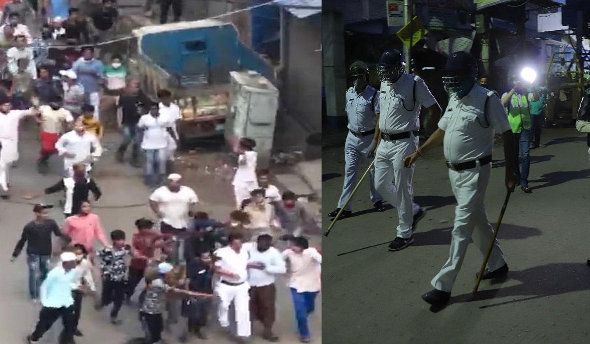 VIDEO : बंगाल के टिकियापाड़ा में पुलिस पर भीड़ का हमला, रैफ व काम्बैट फोर्स ने संभाला मोर्चा, दिलीप घोष ने की CRPF तैनाती की मांग