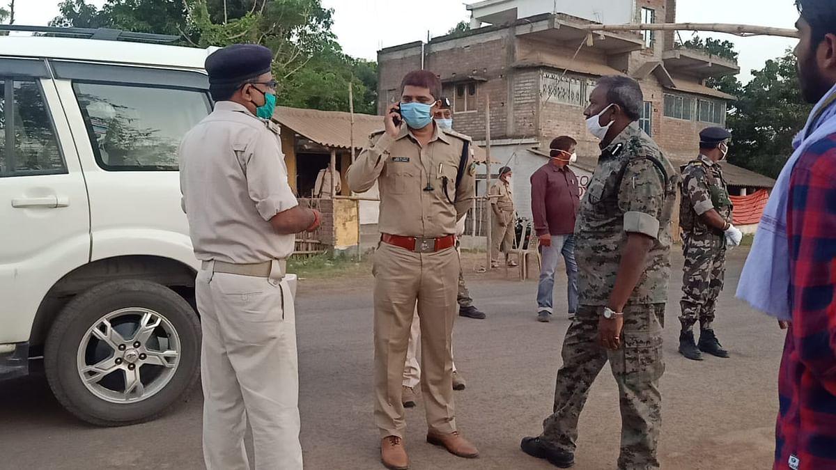 डीआईजी राजकुमार लकड़ा का आदेश, बाहरी वाहनों को न करने दे प्रवेश