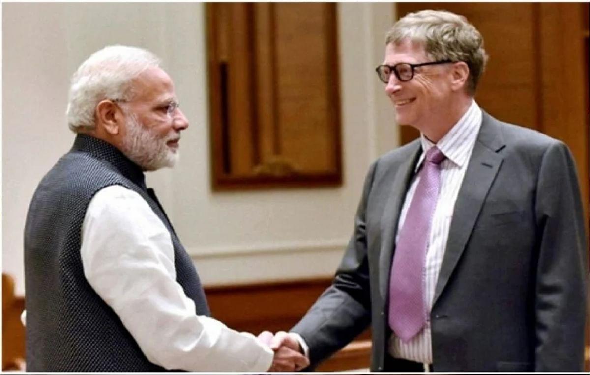 भारत में कोविड-19 :  बिल गेट्स ने की पीएम मोदी के नेतृत्व क्षमता की