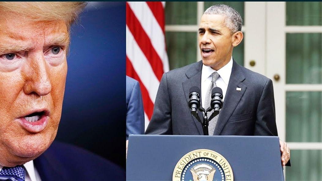 इंटरव्यू बीच में छोड़कर चले गये डोनाल्ड ट्रंप, बराक ओबामा ने साधा निशाना, कहा- एक सवाल से डर गये