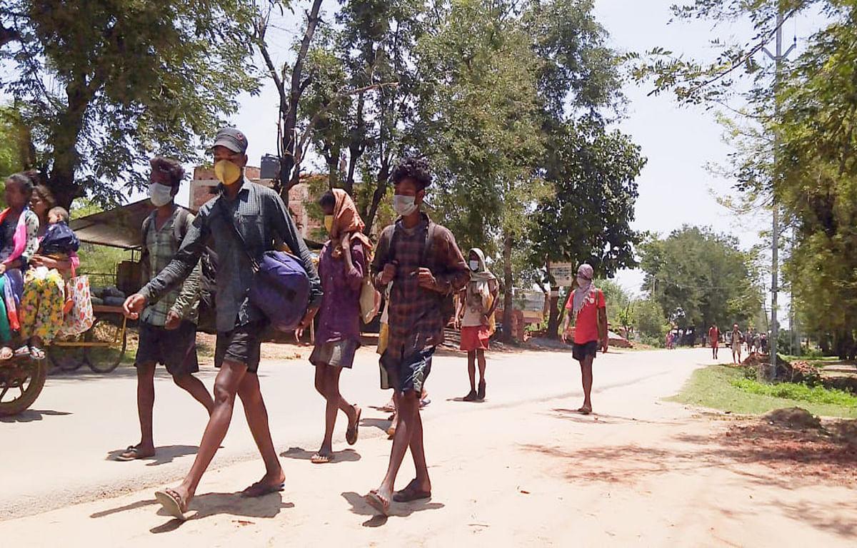 सरकार ने अब तक बीआरओ को मजदूर ले जाने की अनुमति नहीं दी