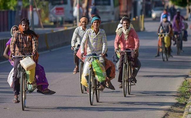 'घर वापसी' के लिए हैदराबाद से साइकिल पर शुरू किया सफर, 17 दिन में पहुंचा बिहार