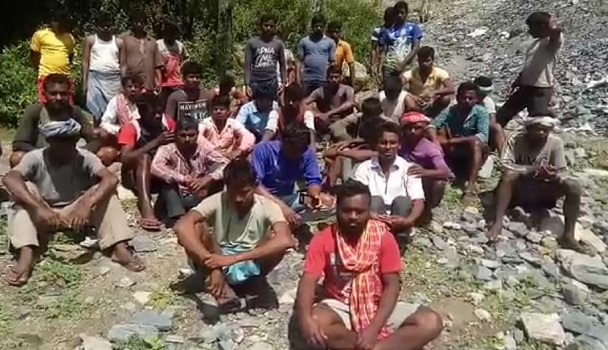 उत्तराखंड के चमोली में फंसे हैं दुमका के 37 मजदूर, वीडियो भेजकर बतायी अपनी पीड़ा, सीएम से लगायी गुहार