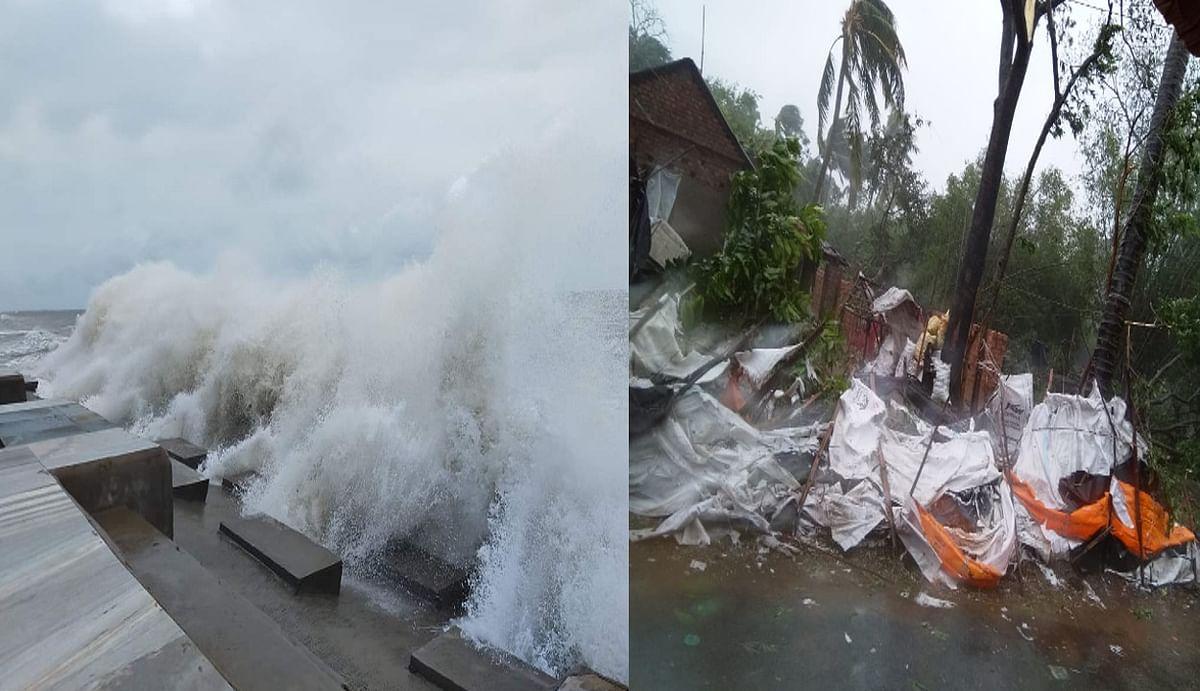 बंगाल में 'यश' की तबाही, दीघा में उठी 30 फुट ऊंची लहरें, मेदिनीपुर में 51 बांध टूटे, गांव-गांव में बाढ़