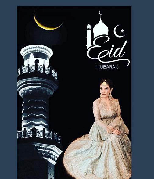 बॉलीवुड एक्ट्रेस रवीना टंडन ने अपने फैंस को ईद की मुबारकबाद दी.