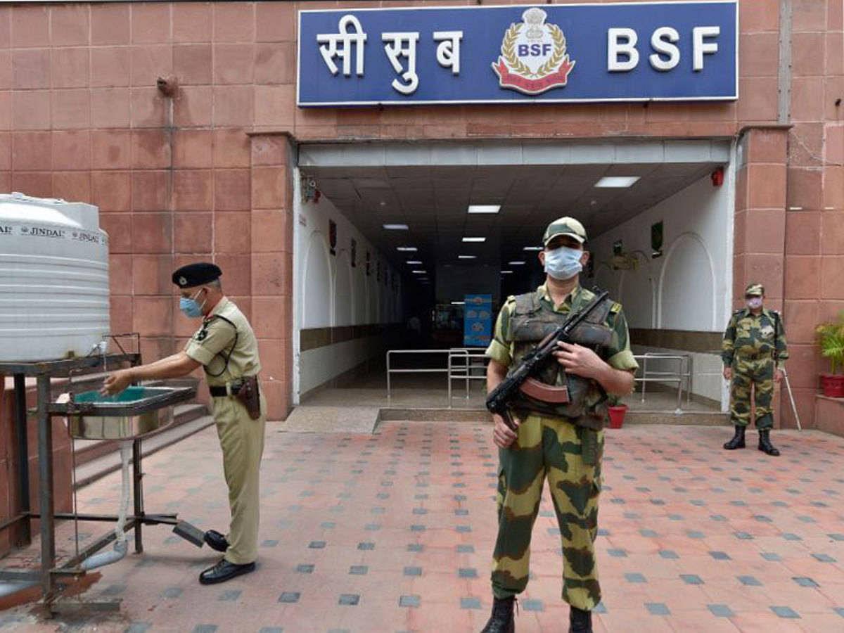 बंगाल में केंद्रीय टीम की सुरक्षा से खिलवाड़, एस्कॉर्ट करने वाले बीएसएफ के 5 और जवान कोरोना पॉजिटिव मिले