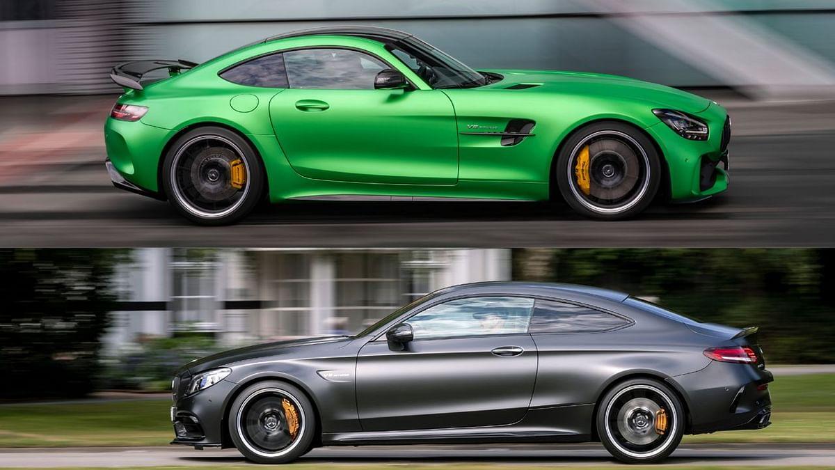 2020 Mercedes-AMG C 63 और AMG GT R कूपे भारत में लॉन्च, कीमत 1.33 करोड़ से शुरू
