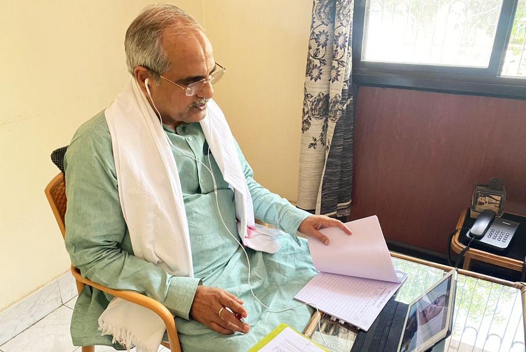 बिहार विधानसभा चुनाव : कोरोना संकट के बीच BJP की चुनावी तैयारी शुरू, वीडियो कॉन्फ्रेन्सिंग कर विधानसभा प्रभारियों से की चर्चा
