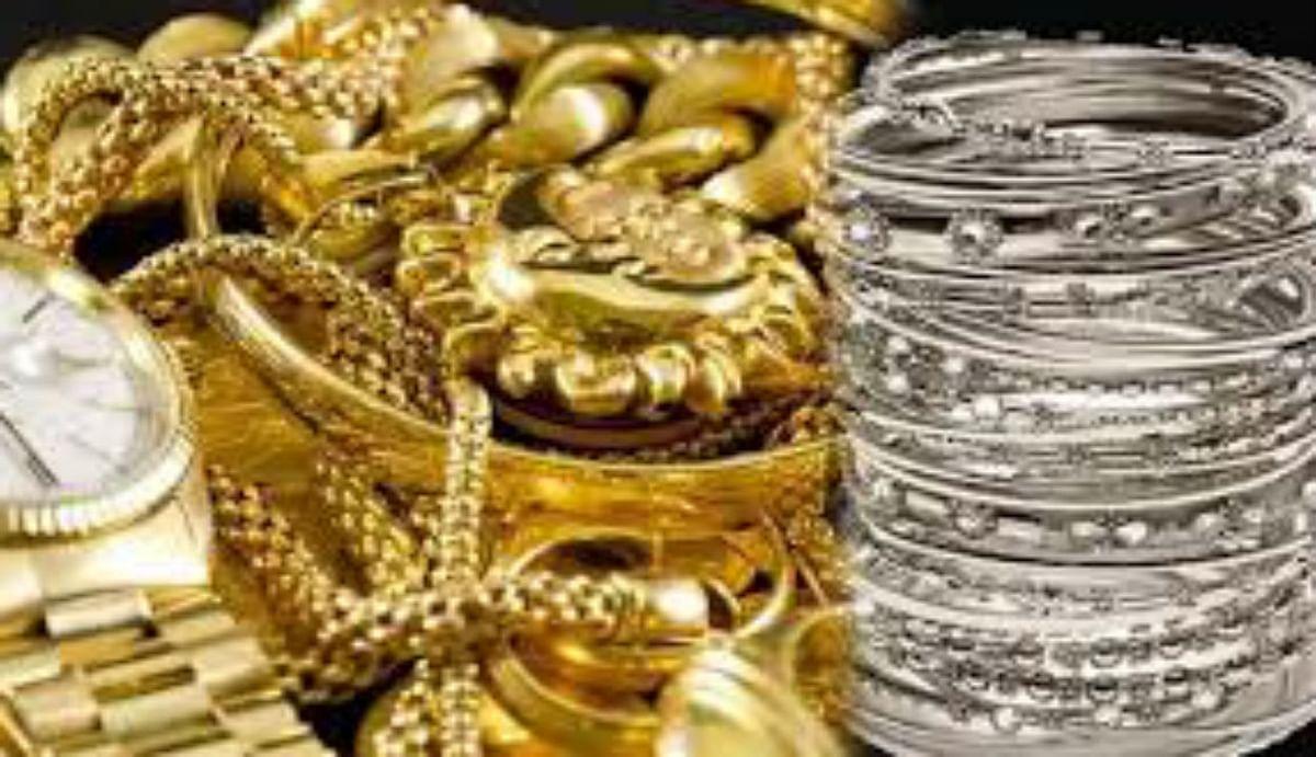 Gold Silver Price Today: एक माह के उच्चतम स्तर पर पहुंचा सोने का भाव, चांदी 64 हजार के पार