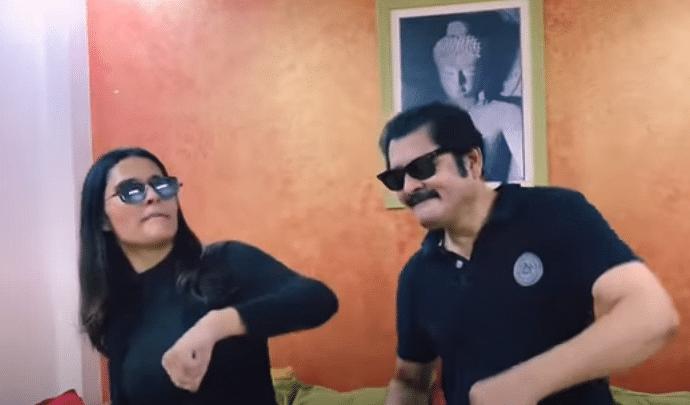 'भाभीजी घर पर हैं' के तिवारी जी ने 'काला चश्मा' गाने पर जमकर किया डांस, सोशल मीडिया पर वायरल हो रहा वीडियो